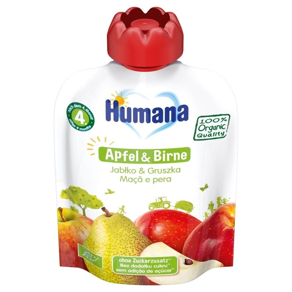 Humana Frucht-Quetschie Apfel & Birne (90g)