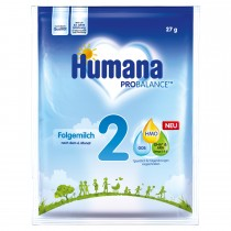 Humana Folgemilch 2 Probe (27g)