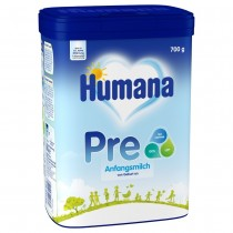 Humana Anfangsmilch PRE 700g 3D