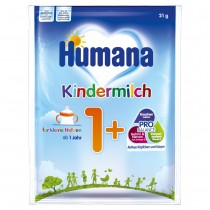 Humana Kindermilch 1+ Probe (21g)