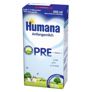 Humana PRE trinkfertig (450ml)